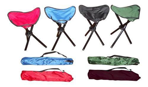 Silla banqueta banquito banco plegable outdoorz camping