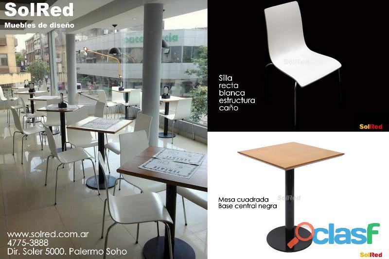 Mesa y silla para oficina