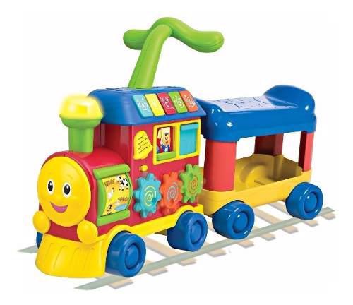 Andador caminador pata pata winfun tren sonidos bebes niños