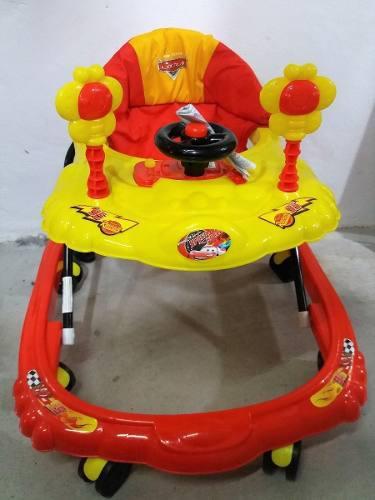 Andador cars disney original 8 ruedas y sonidos