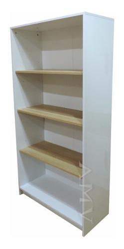 Biblioteca armario estantes regulables laqueada melamina +