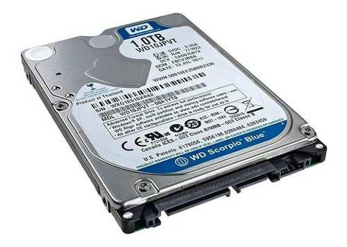 Disco rigido notebook 1 tb western digital sata 2.5 5400rpm