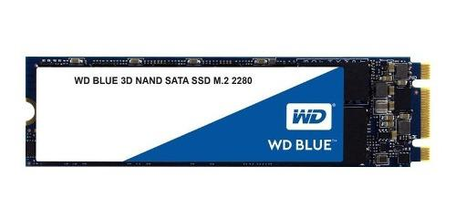 Disco ssd 500gb m2 2280 wd blue 3d interno