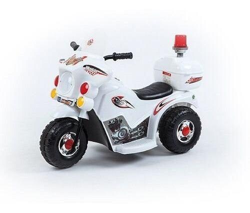 Moto 3 ruedas a bateria niño 6v policia love 3006 envio