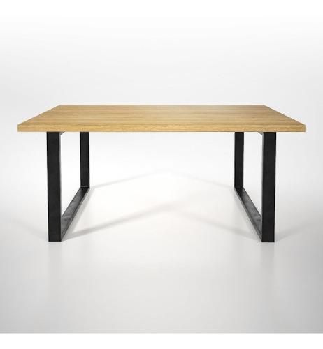 Pata de hierro para escritorio mesa comedor 74 x 74