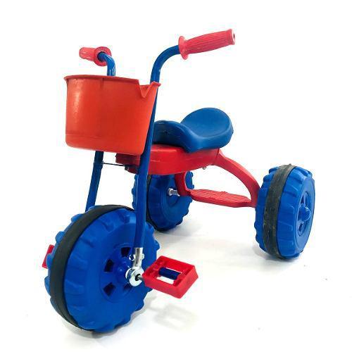 Triciclos infantiles nene nena canasto y apoya pie