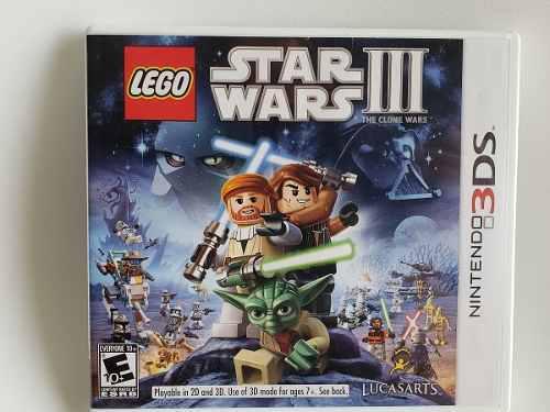 Juego nintendo 3ds star wars iii the clone wars usado fisico