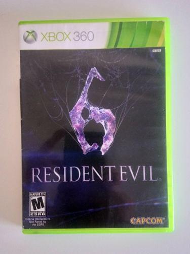 Juego Resident Evil 6, Xbox 360!!