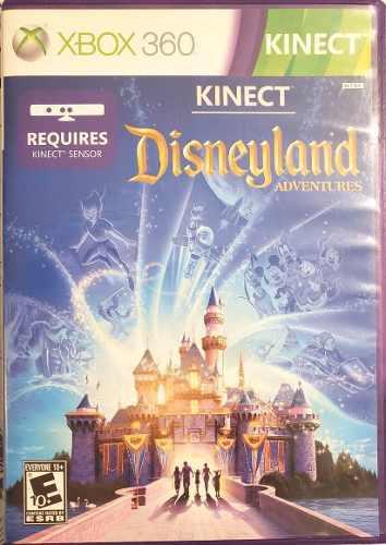 Juego Xbox 360 Kinect - Disneyland - Original