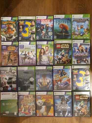 Juegos Originales Xbox 360 En Caja. Lote De 20. Liquido.