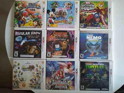 Regular show nintendo 3ds juegos originales impecables