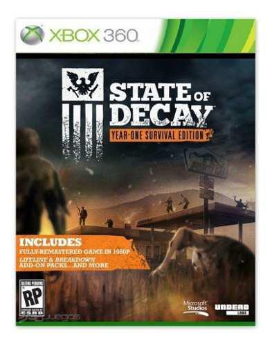 State of decay juego xbox 360 totalmente original digital