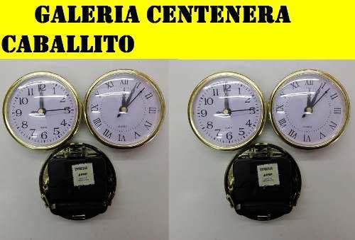 20 Maquinas Relojes Insertos 8cm Artesania, Souvenirs