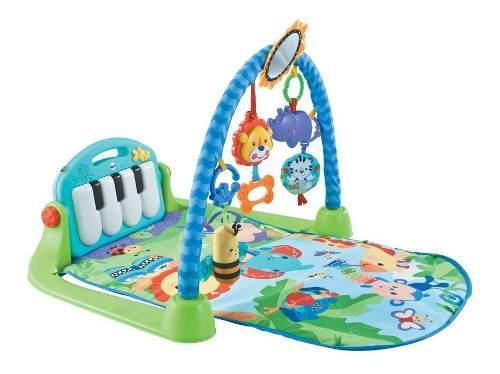 Gimnasio bebe piano alfombra musical manta didáctica 3 en 1