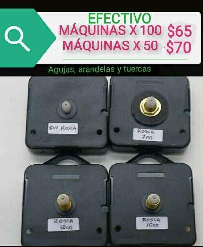 Maquinas para armar relojes efect x100 artesanias caballito