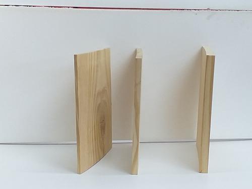 Taekondo tablas pino rotura espesor 1/2 pulgada 30 x 30cm
