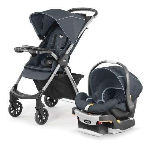 Coche travel system chicco mini bravo plus huevito + base