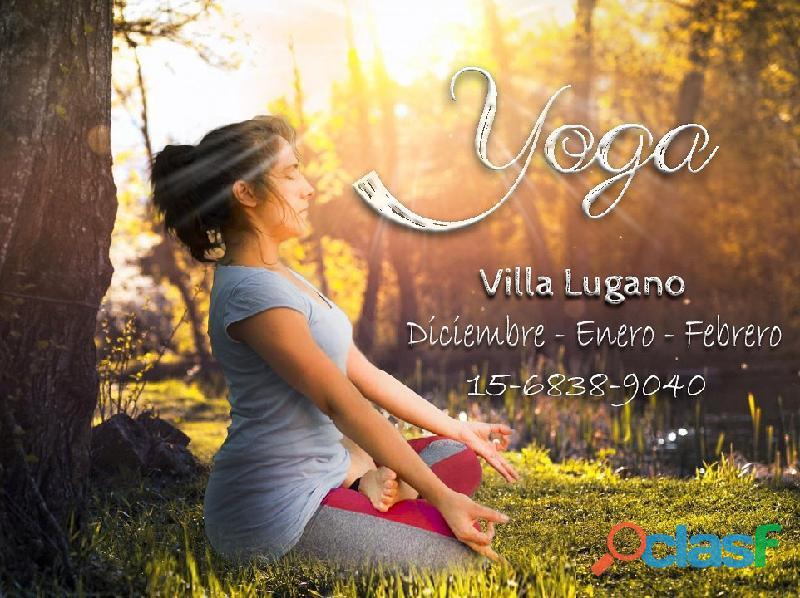 Clases de yoga y meditación en villa lugano