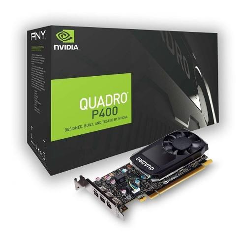 Placa de video pny quadro p400 2gb displayport x 3