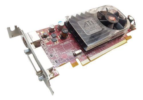 Placa Video Dms-59 (no Dvi) Ati Radeon Hd 3470 256mb Low