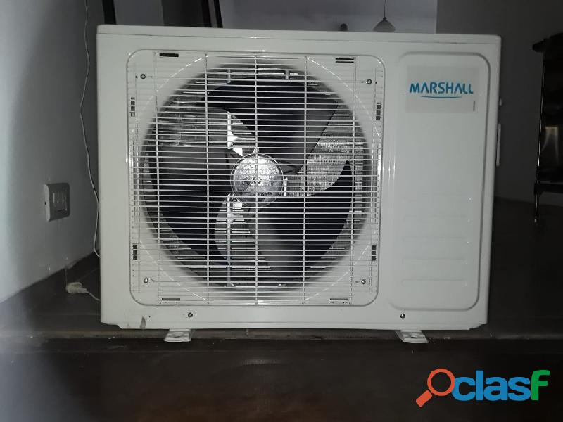 Aire acondicionado 3500 frigorias marca marshall practicamente nuevo