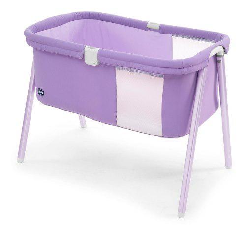 Moises cuna catre bebe chicco lullago lila plegable