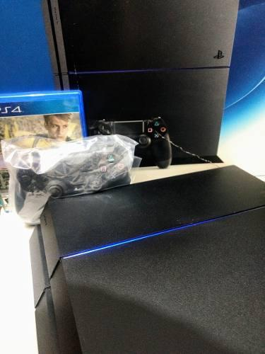 Ps4 500gb impecable + joystick + juegos leer