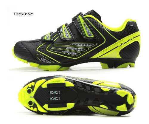 Zapatillas zapatos bicicleta mtb sbk ciclismo tb35-b1521