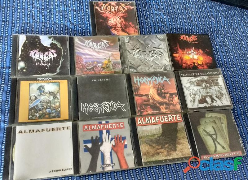 Lote 84 Discos de Metal y Hard Rock + Porta CD de REGALO 3