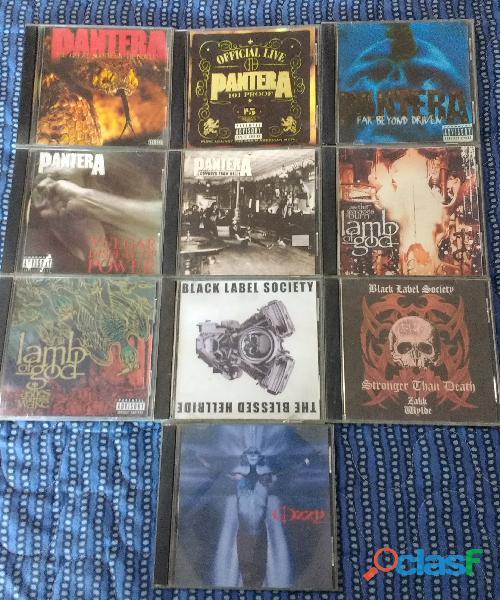 Lote 84 Discos de Metal y Hard Rock + Porta CD de REGALO 2