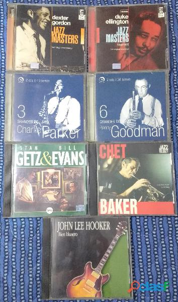 Lote 6 cds de jazz (20% off)