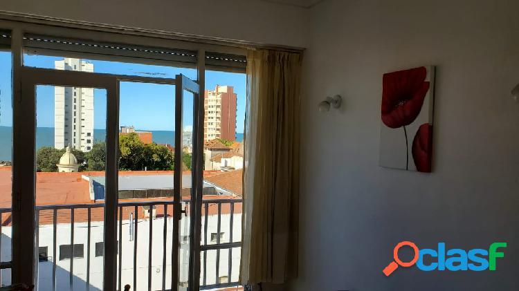 DEPARTAMENTO 1 Amb a LA CALLE con VISTA AL MAR - LA PERLA - c/renta 1