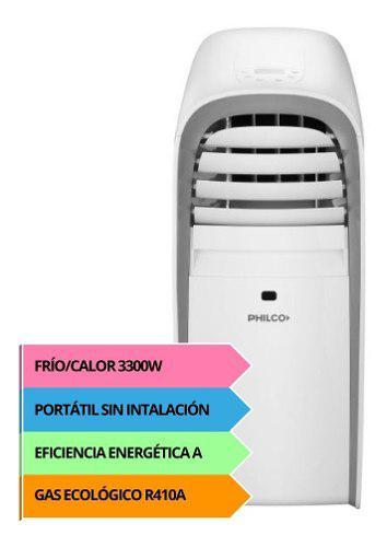 Aire acondicionado portátil philco 3500w f/c php32ha2an pce