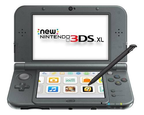 New nintendo 3ds xl (new black) - refurbished by nintendo -