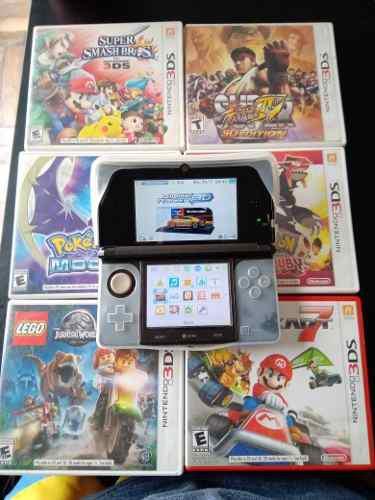 Nintendo 3ds + 9juegos