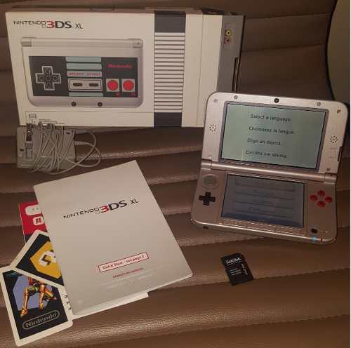 Nintendo 3ds xl en caja (traido de usa) + 7 juegos fisicos