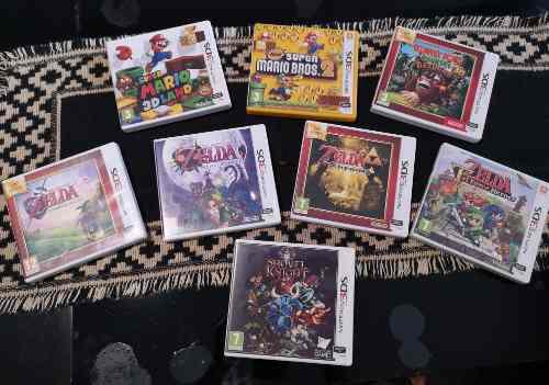 Nintendo 3ds xl impecable estado + mejores juegos!!