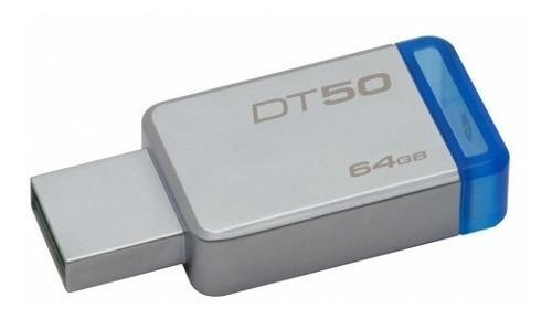 Pendrive 64gb kingston dt50 usb original tienda la plata