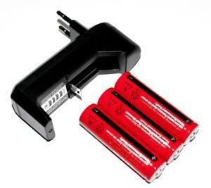 Cargador baterias ultrafire fenix nitecore. + 3 pilas 18650