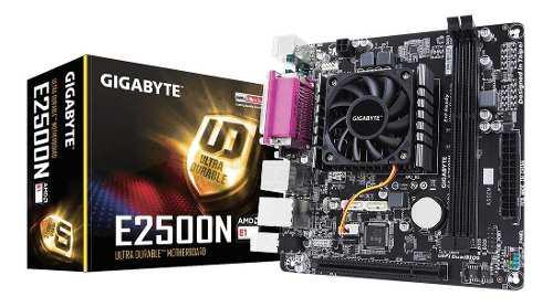 Combo actualización pc amd mother gigabyte e2500n hd8240
