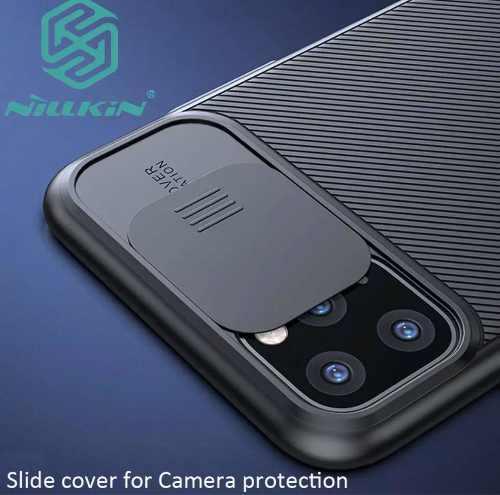 Funda iphone 11 pro nillkin protección de camara carcasa