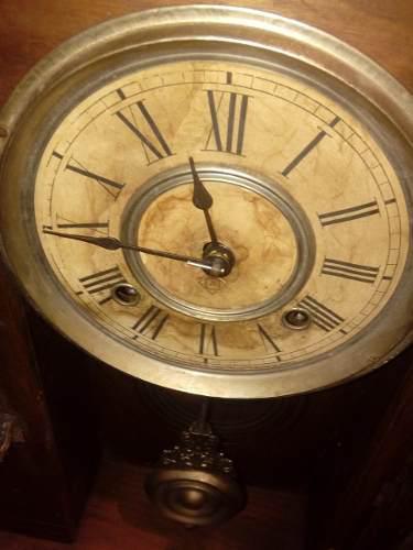 Antiguo reloj capilla ansonia