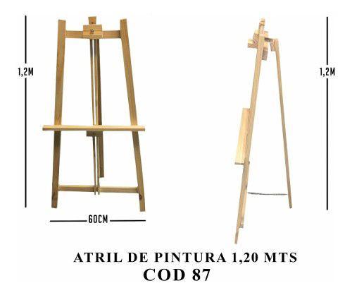 Atril atriles atril atriles 1,20 mts pizarrones ruffino