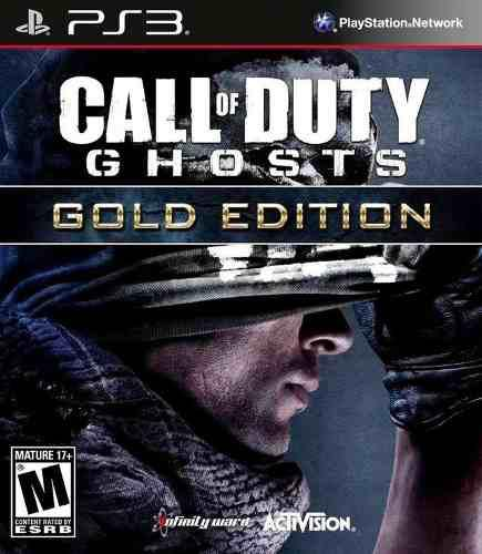 Cod call of duty ghosts ps3 gold edition| digital español