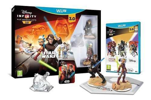Disney infinity 3.0 wii u juego original base y muñecos