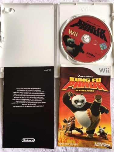 Juego nintendo wii kung fu panda - fisico - impecable