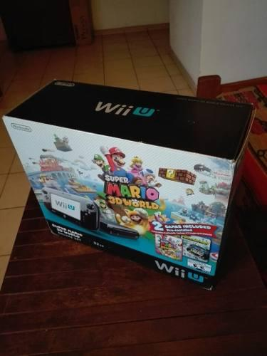 Nintendo wii u + nintendo wii
