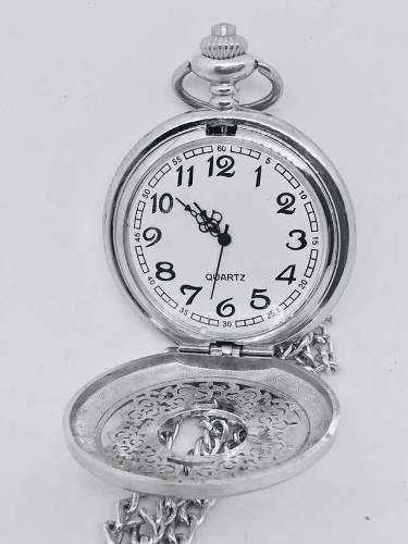 Reloj de bolsillo estilo vintage con cadena anotador regalo