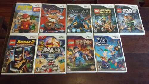Wii juegos originales combo 5 juegos (leer descripción)