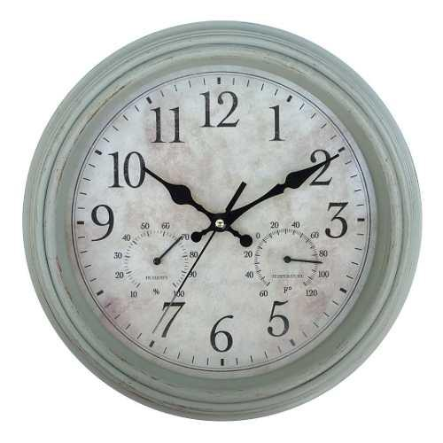 Reloj de pared estilo antiguo vintage colores - rex